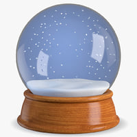 snow globe 3D