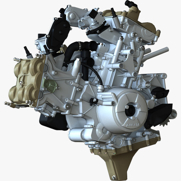 ducati superquadro engine model