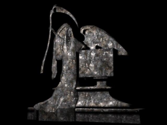 reaper statue 3D