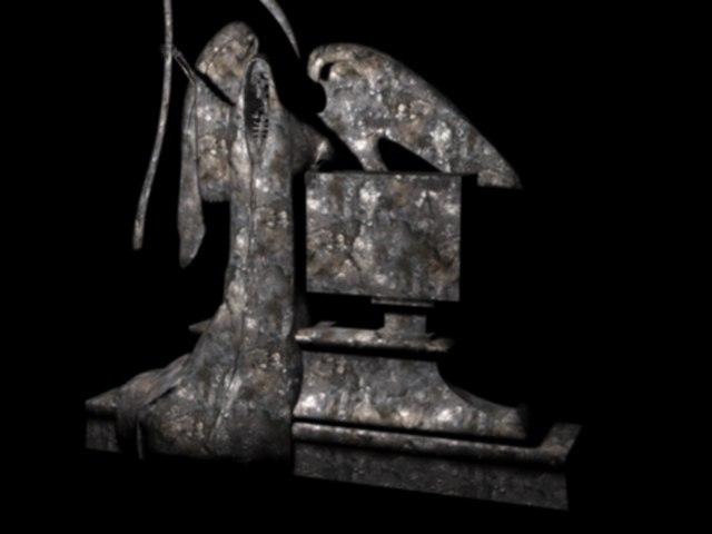 reaper statue 3D model