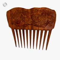 3D comb model