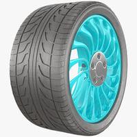 Car Wheel 001