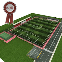 football tennis pitch