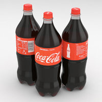 Beverage Bottle Coca-Cola 1L