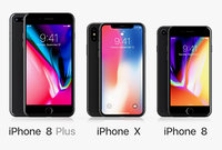 Apple iPhone Set 2017-2018