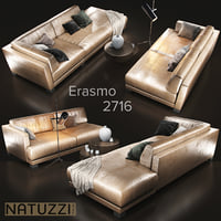 sofa natuzzi erasmo 2716 model