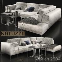 sofa natuzzi golf 2945 3D