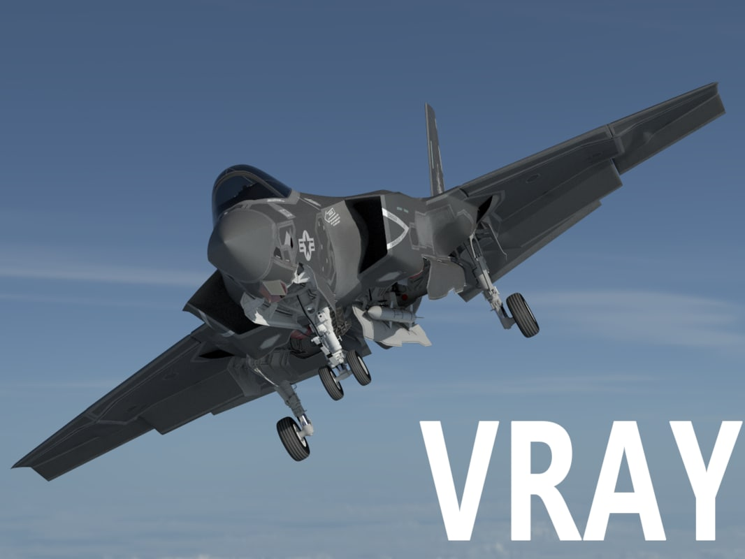 f-35 f-35c f-35cf 3D