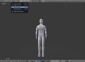 3D humano model