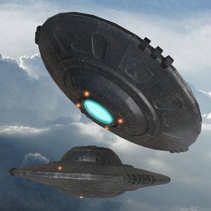 3D ufo spaceship