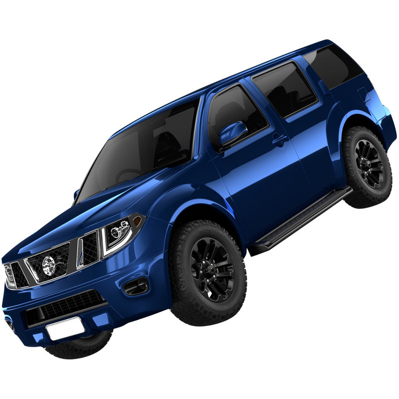 generic suv 1 3D model