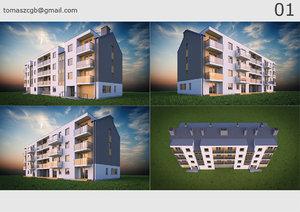 building 01 house 3D model
