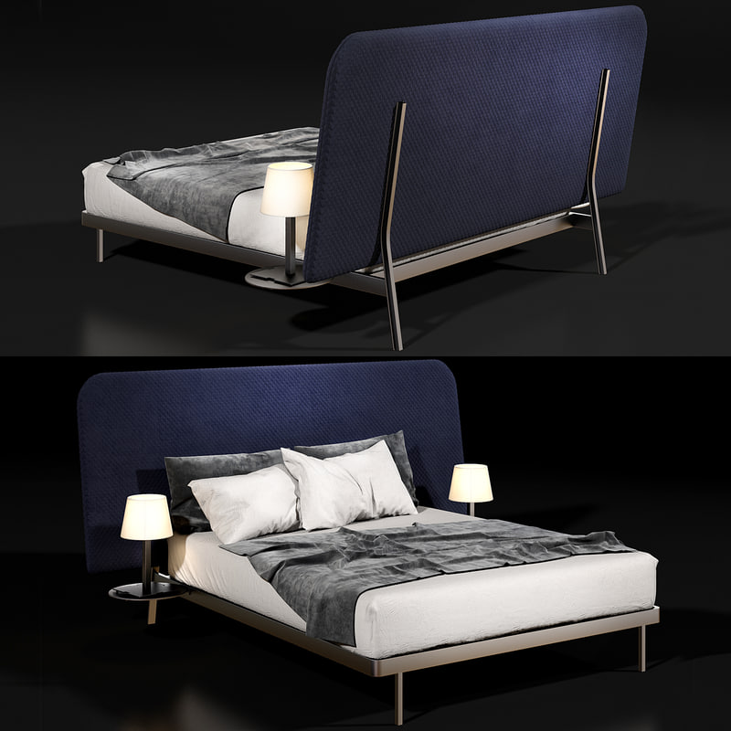 3D bonaldo contrast bed model
