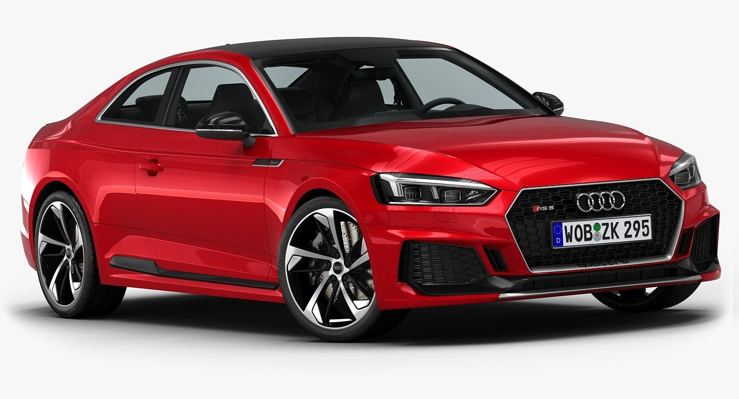2018 audi rs5 coupe 3D