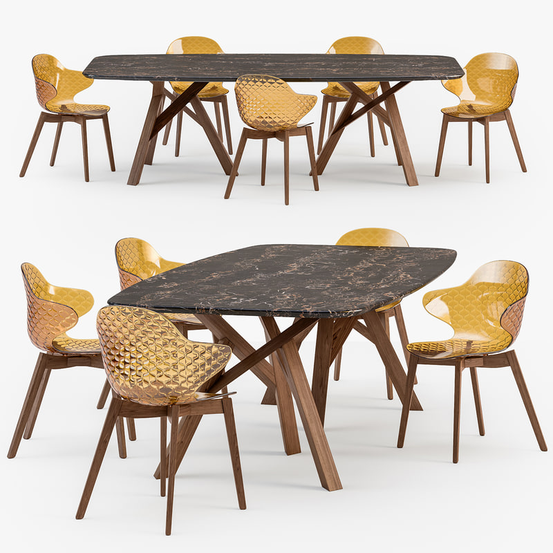 3D calligaris jungle table saint