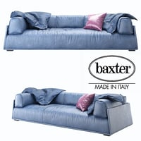 3D sofa baxter hard model