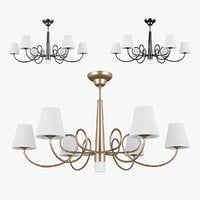 3D chandelier 814073 champagne 814074
