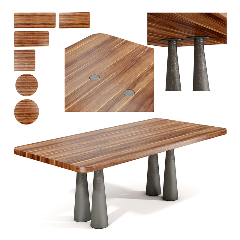 bonaldo table 3D model