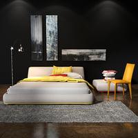bonaldo amos bed model