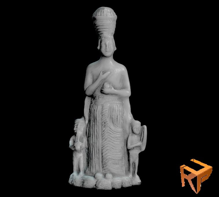 3D statue frigya