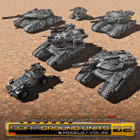 3D 6 low-res ground units