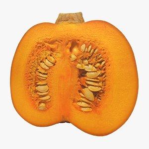 3D cut pumpkin 2