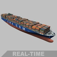 Container ship (New Panamax) + VTEL