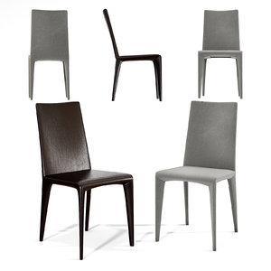 bonaldo filly chair model