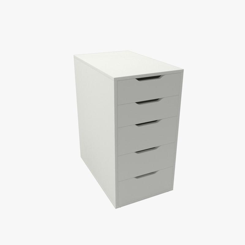 3D drawer unit