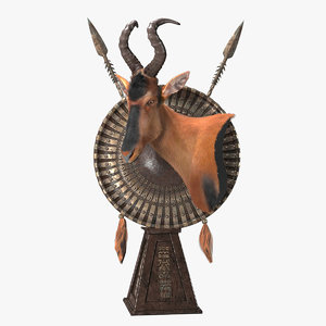 red hartebeest model