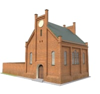 3D model synagogue