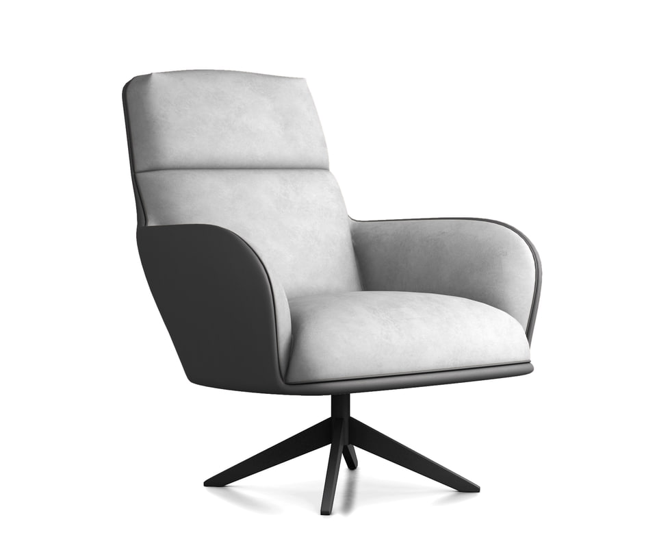 3D model chair christie lounge
