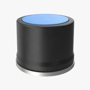 button 01 black 3D