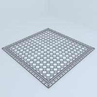 ceiling design 3D model