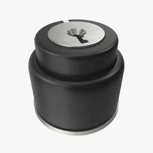 button 01 02 3D model