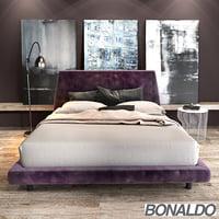 bonaldo joe ego bed 3D model