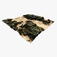 terrain river 3D