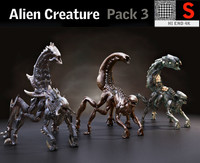creature pack hd model