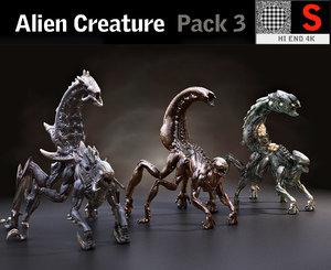 creature pack hd model