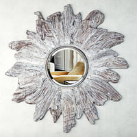 3D floris whitewashed mirror goods model
