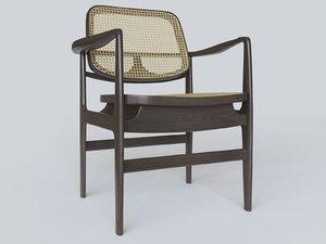 3D armchair arm chair