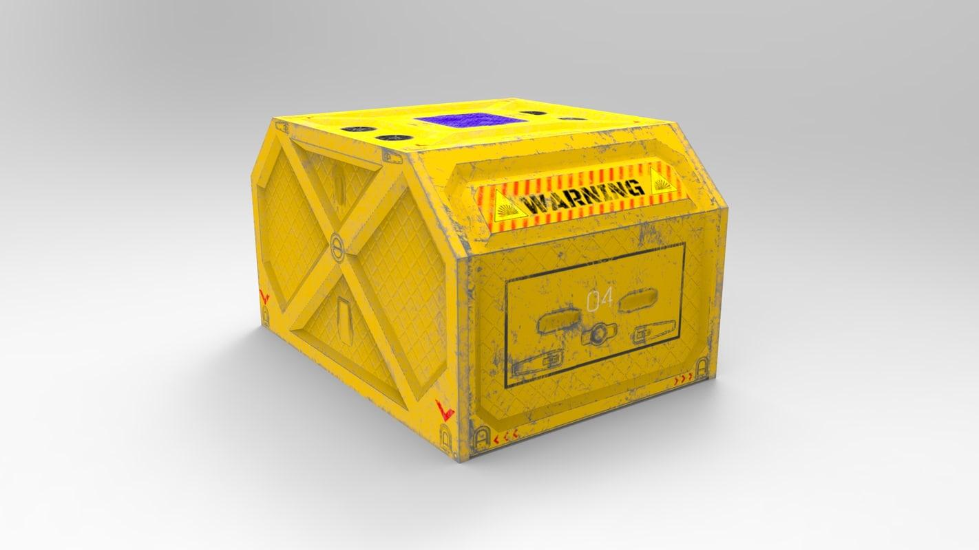 3D container equipment model