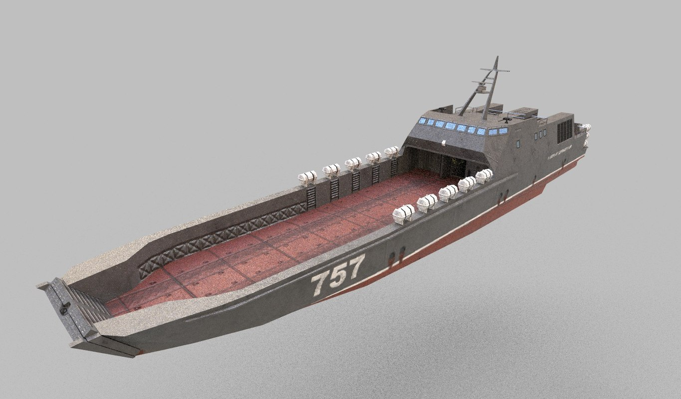 dyugon class landing ship model