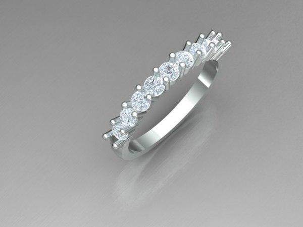 band diamond 3D model