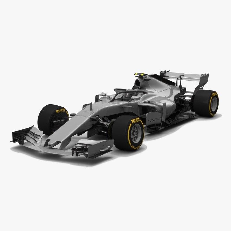 formula 1 concept car model