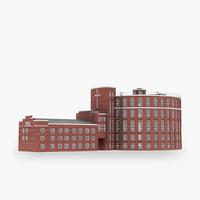 3D model bakery plant