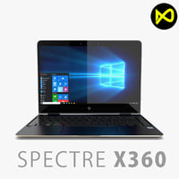 New HP Spectre x360 13-inch 2017 Laptop