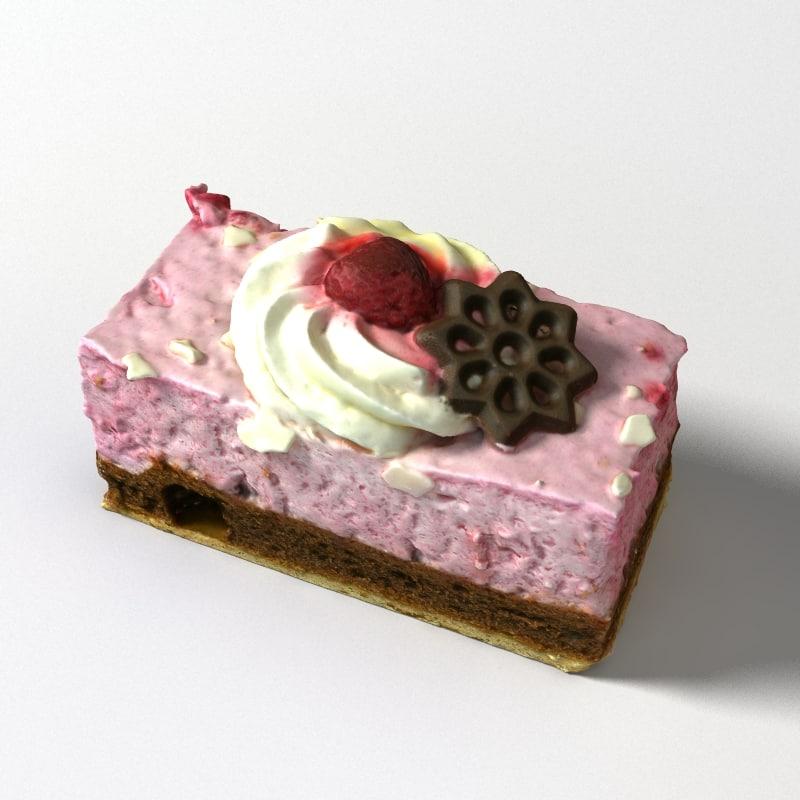 cake 3D model