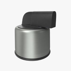 button 01 08 3D model