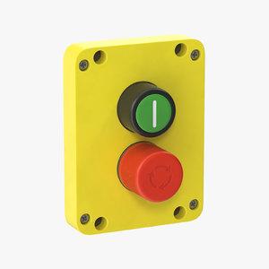 3D button 01 15 model